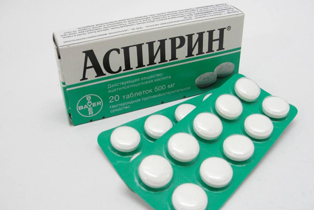 Маска с аспирином и желатином