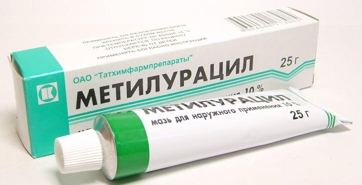 Метилурацил в косметологии