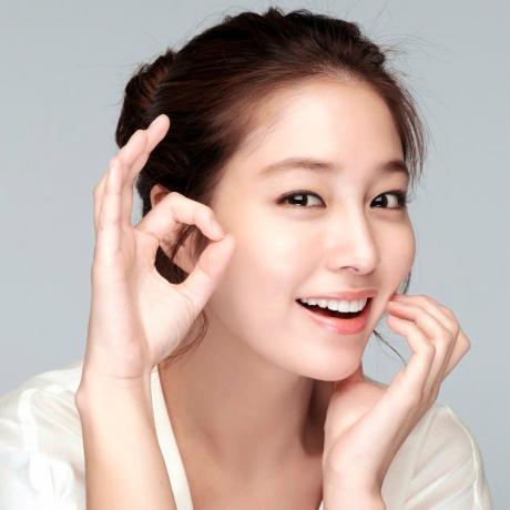 Применение корейской косметике