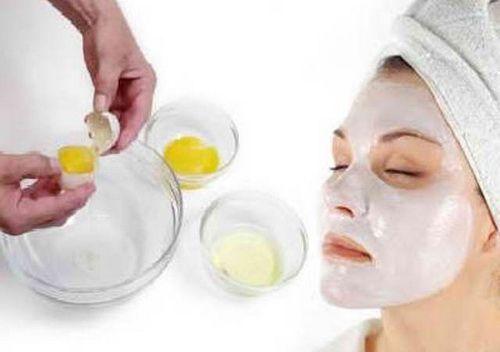Как сделать яичную маску для лица от прыщей