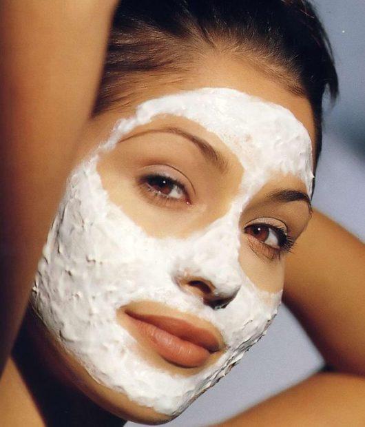 маска от морщин с манкой
